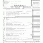 1041 Sample Tax Return