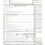 1120 Sample Tax Return
